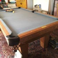 The Bertin Billiards Pool Table