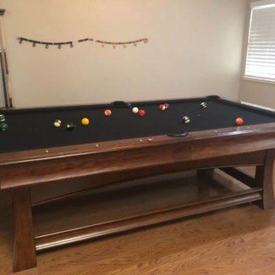 Beautiful Modern Pool Table