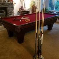 "Pool Table Classic 8' ""Ventura"" by Brunswick"