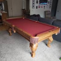 7ft Olhausen Slate Pool Table